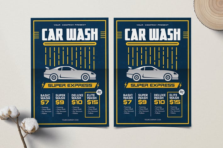 Thumbnail for Car Wash Flyer