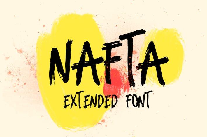 Thumbnail for Fuente de marcador extendido Nafta