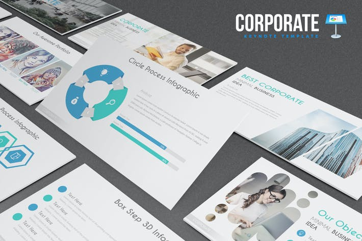 Thumbnail for Corporate Keynote Template