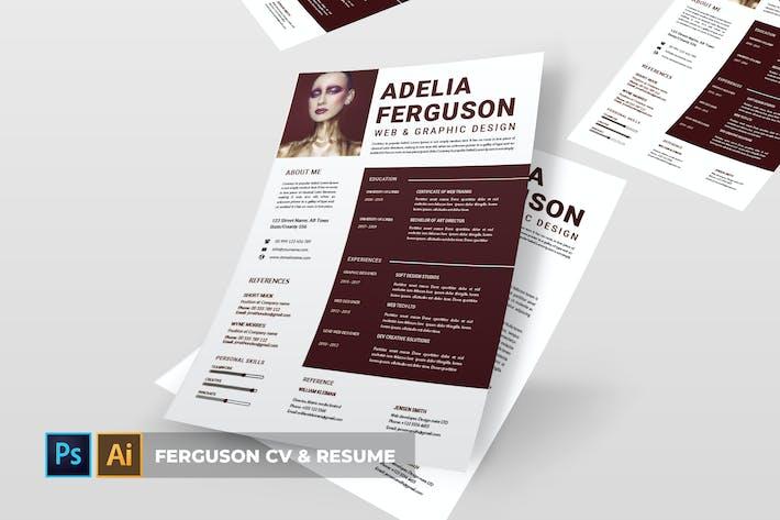 Thumbnail for Ferguson | CV & Resume