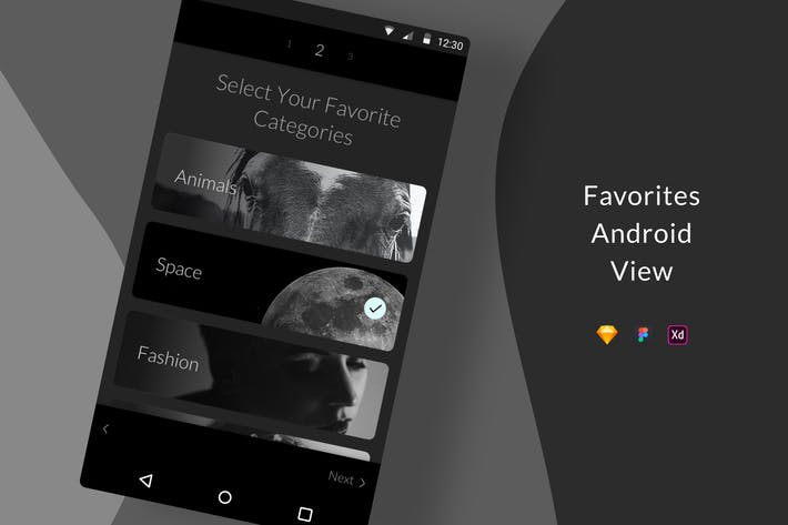 Thumbnail for Favorites Android View