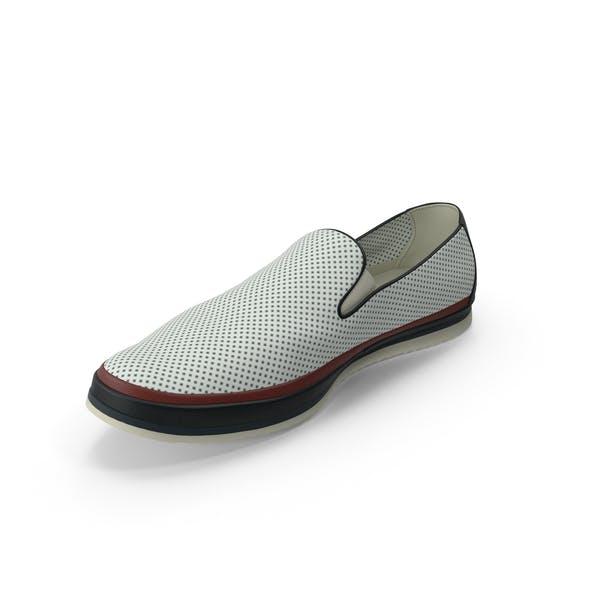 Мужская обувь белый