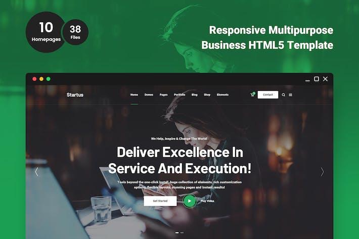 Thumbnail for Startus - Multipurpose Business HTML5 Template