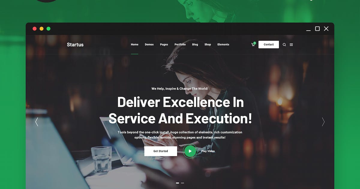 Download Startus - Multipurpose Business HTML5 Template by 7oroof