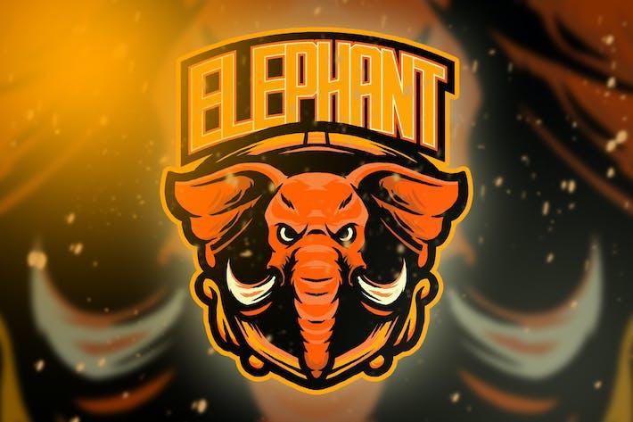Elephant Esport Logo Vol. 3