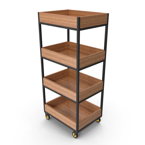 Thumbnail for Storage Rack With Wheels