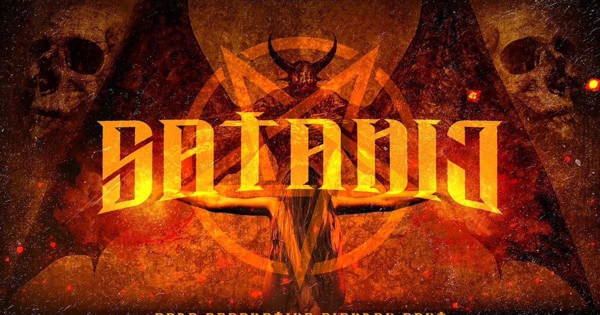 Download Satanic - Decorative Bold Display Typeface by naulicrea