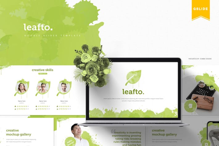 Thumbnail for Leafto | Google Slides Template