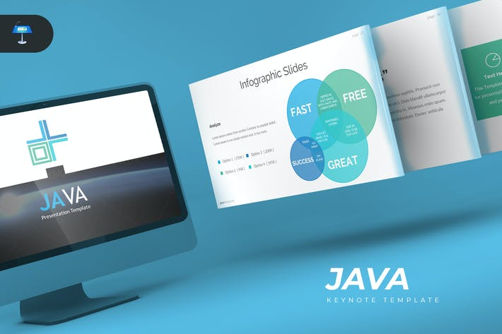 Thumbnail for Java - Keynote Template