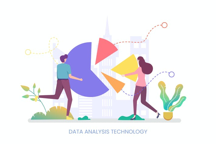 Thumbnail for Data Analysis Technology Vector Illustration