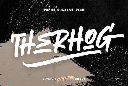 Therhog - Brocha para graffiti