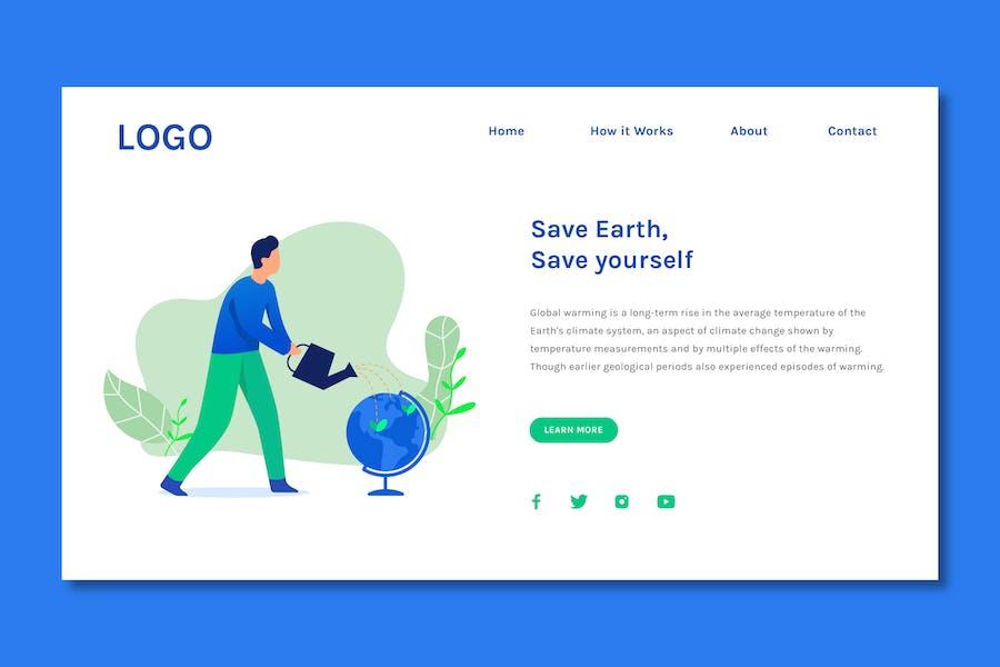 Save Earth - Web Header