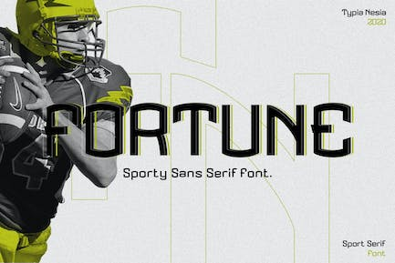 Fortune - Sporty Display