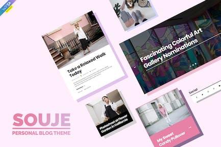 Souje - Персональная Тема блога WordPress