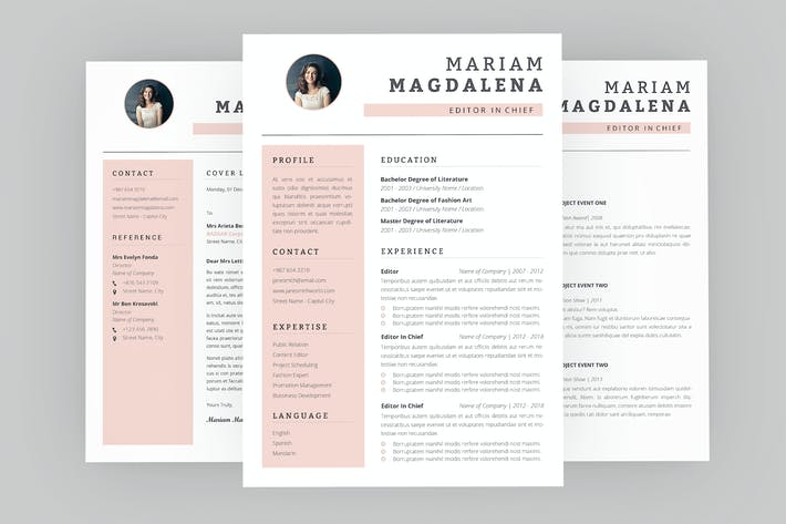Thumbnail for CV Assembly Resume Designer