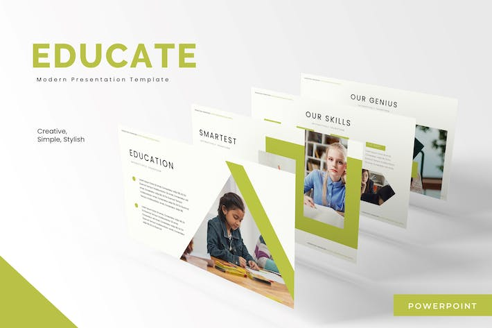 Thumbnail for Educate - Powerpoint Template