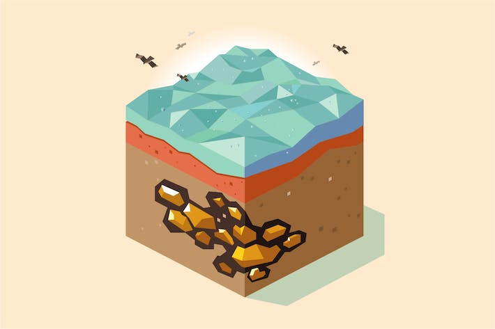 Cover Image For gold mine