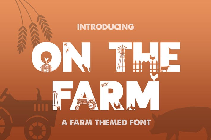 Thumbnail for On the Farm Font