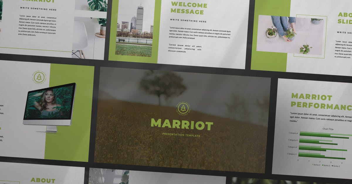 Download Marriot Powerpoint by TempCraft