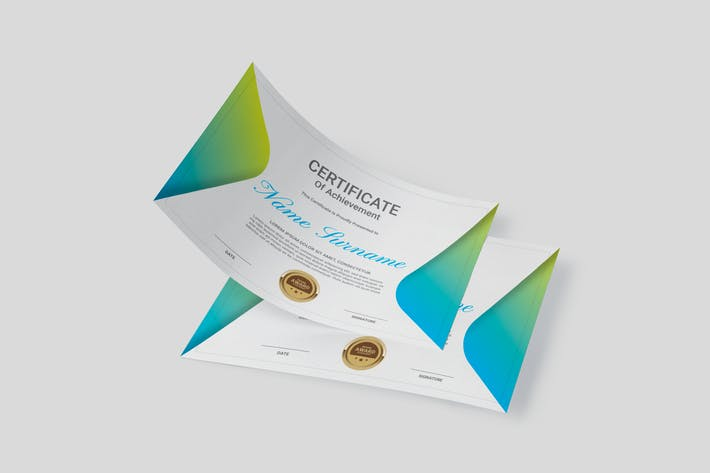 Thumbnail for Creative Multipurpose Certificates