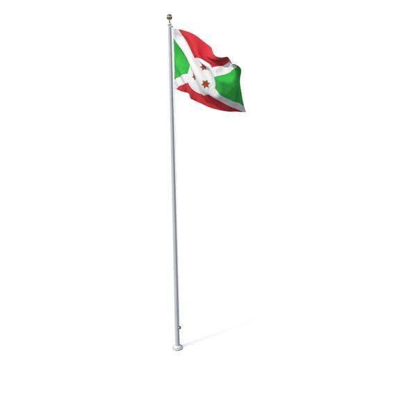 Thumbnail for Flag On Pole Burundi