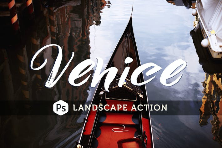 Thumbnail for Venice Landscape Photoshop Action