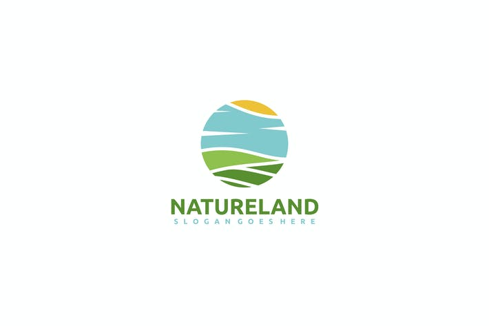 Thumbnail for Nature Landscape Logo