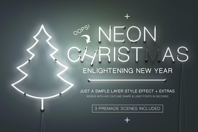 Neon Light Effect by Erigonn on Envato Elements