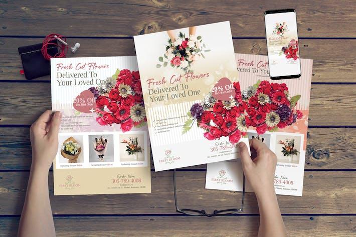 Thumbnail for Flower Shop Flyer