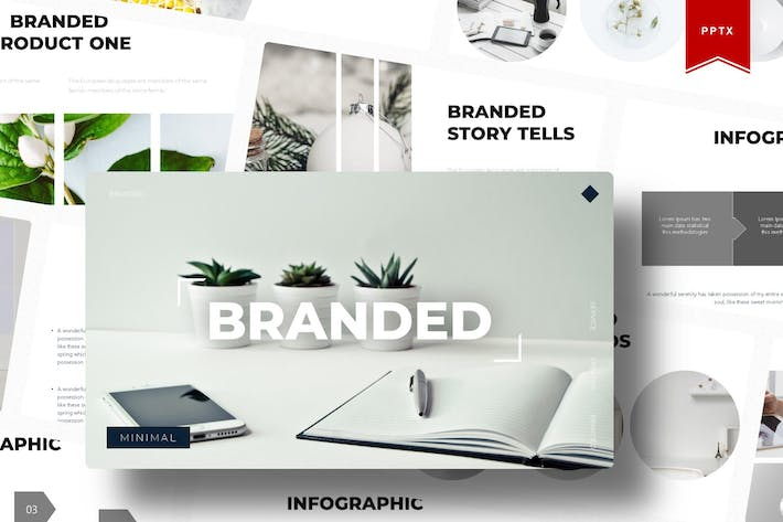 Thumbnail for The Branded | Powerpoint Template
