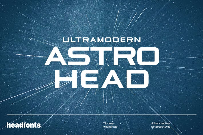 Thumbnail for Astrohead géométrique sans emSerif tement