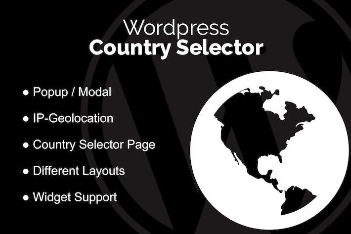 Thumbnail for WordPress Country Selector