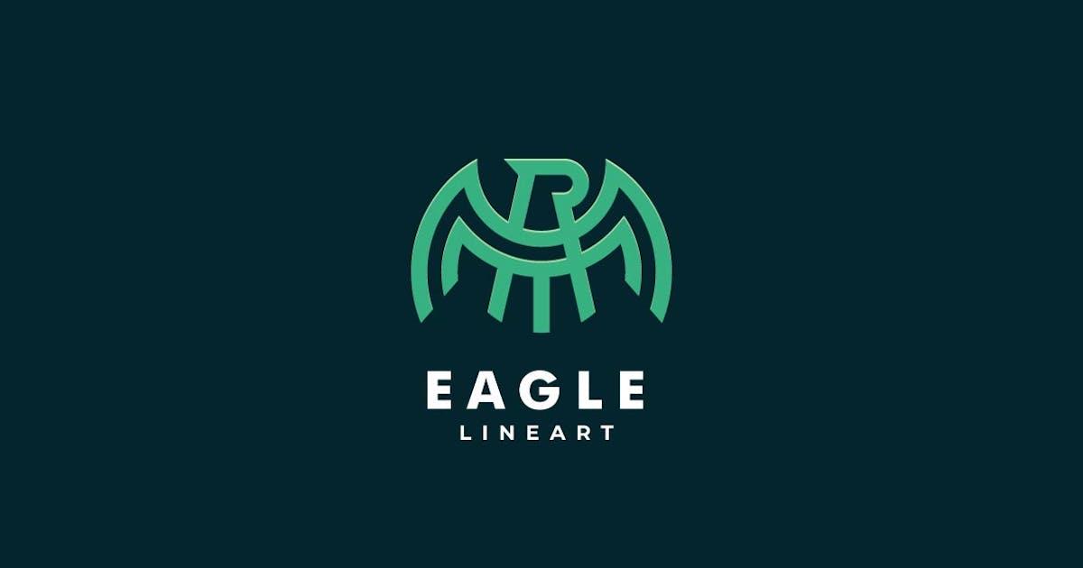 Download Abstarct Eagle Line Art Logo by ivan_artnivora