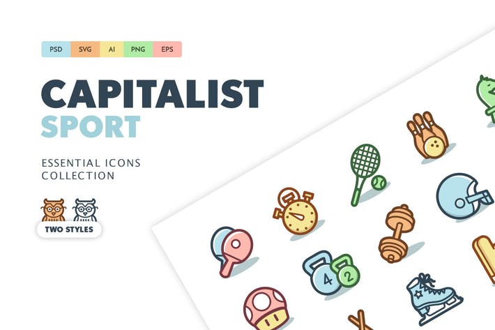 Cover Image For Capitalist Icons: Sports and Games