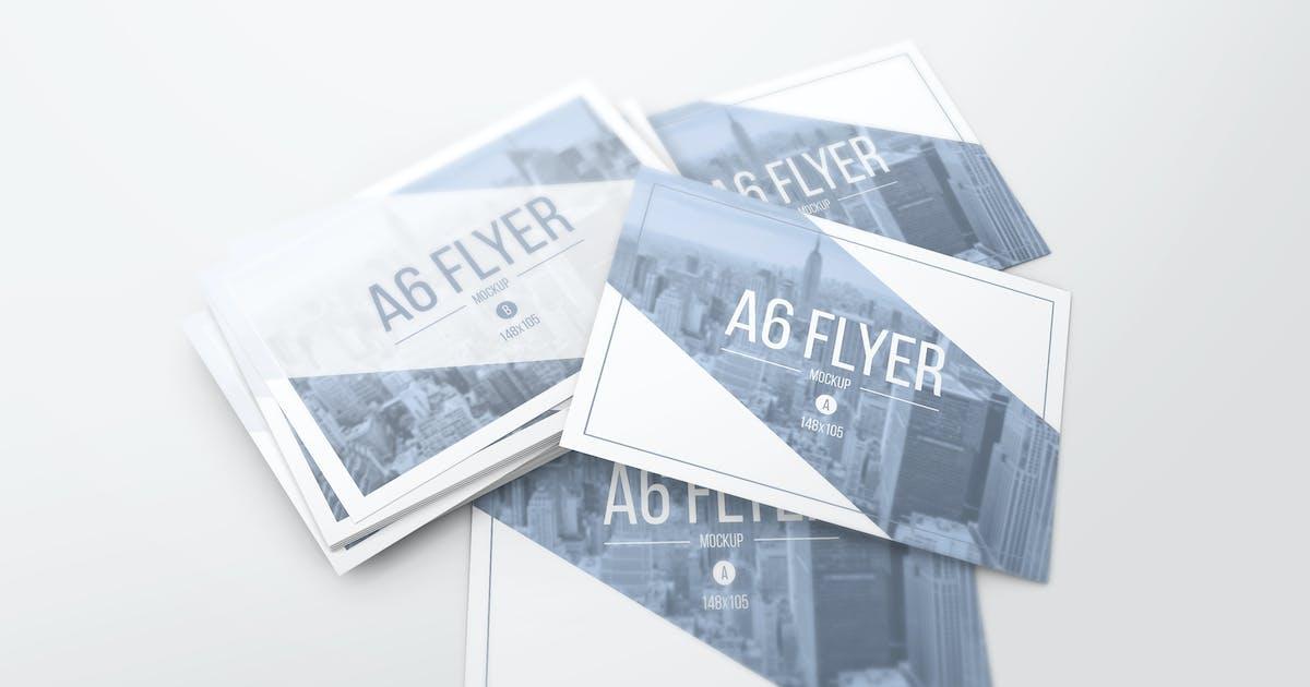 Download A6 Flyer Mockups by StreetD