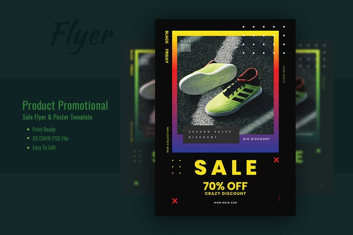 Thumbnail for Product Promotional sales Flyer Template V-3