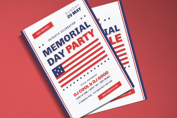 Thumbnail for Memorial Day Celebration & Sale Flyer