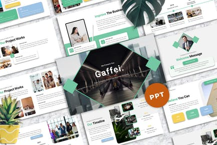 Gaffei - Company Profile Powerpoint Templates