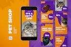 Pet Shop Instagram Stories