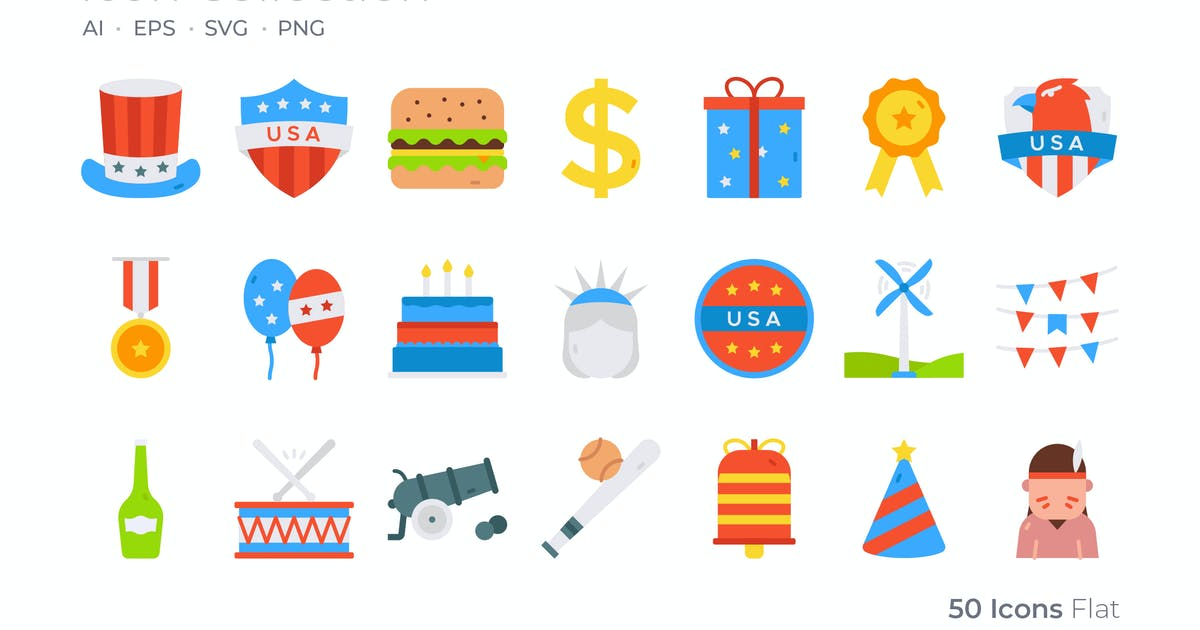 Download 4th of July Color Icon by GoodWare_Std