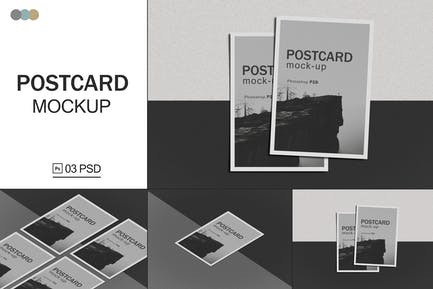 Postcard Mockups V.2