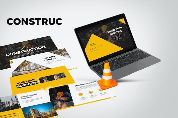 Thumbnail for CONSTRUCTION Google Slides