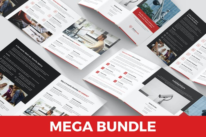 Thumbnail for Home Security – Brochures Bundle 4 in 1