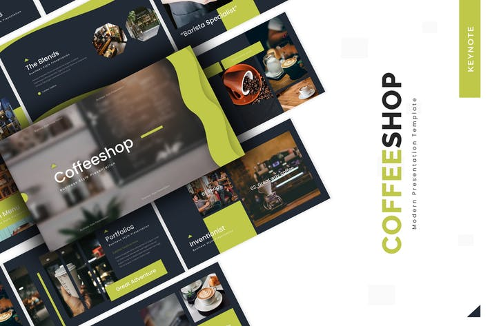 Thumbnail for Coffeeshop - Keynote Template