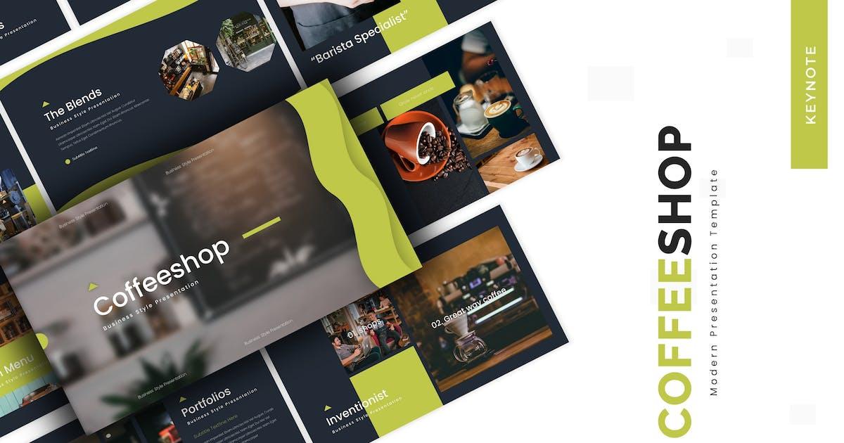 Download Coffeeshop - Keynote Template by vincentllora