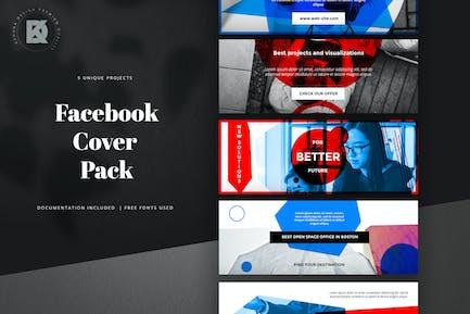 Пакет обложек Facebook