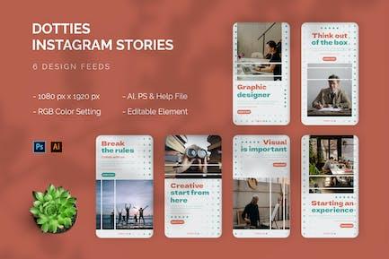 Dotties - Histoire Instagram