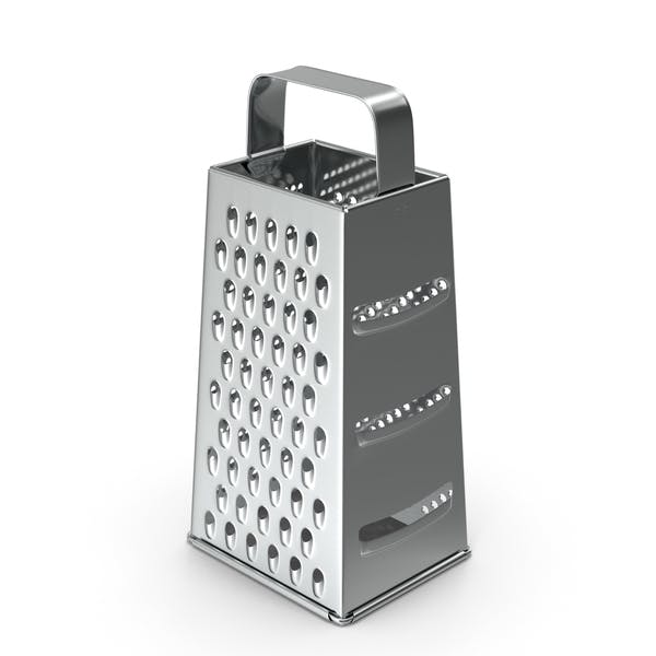 Stainless Steel Silver Kitchen Grater