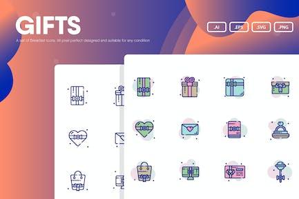 Geschenk-Symbolpaket