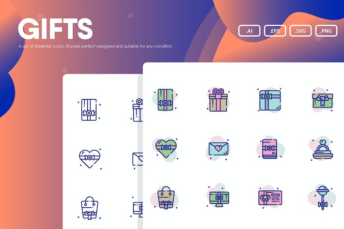 Thumbnail for Gifts Icon Pack